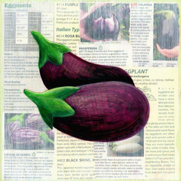 Victory garden: Eggplant